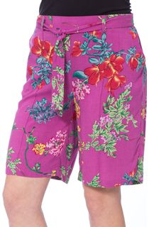 Elasticated Waist Floral Shorts