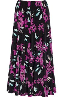 Anna Rose Panelled Floral Skirt