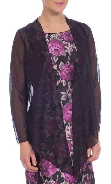 Anna Rose Sparkle Mesh Cover Up