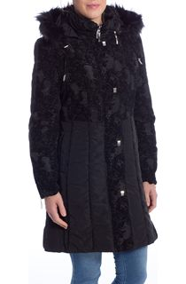 Flocked Long Coat