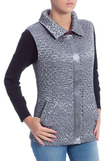 Anna Rose Reversible Gilet - Multi