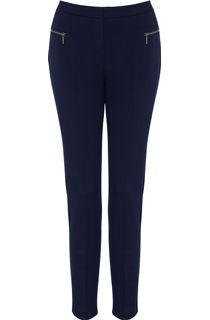 Slim Leg 29 Inch Trousers - Blue