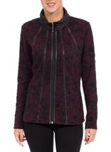 Anna Rose Long Sleeve Unlined Jacket