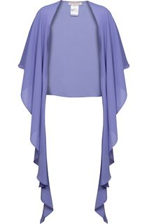 Anna Rose Chiffon Cover Up - Purple