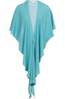 Anna Rose Chiffon Cover Up - Turq