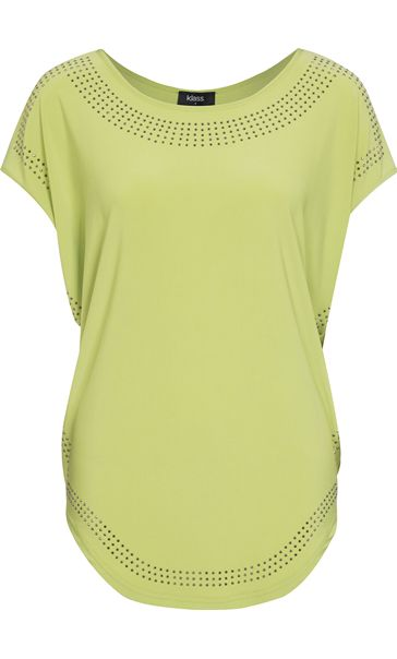Loose Fit Embellished Stretch Top