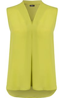Sleeveless Georgette Top - Green