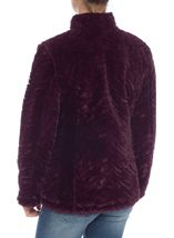Reversible Faux Fur And Quilted Coat
