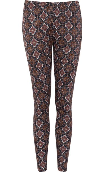 Printed Full Length Leggings