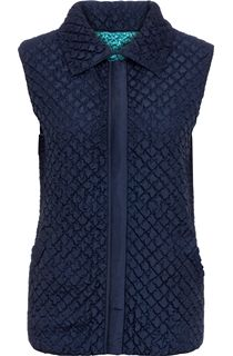 Anna Rose Reversible Gilet - Navy/Teal