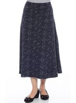 Anna Rose Textured Panelled Skirt