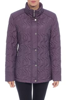 Anna Rose Swirl Stitch Padded Coat