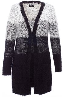 Ombre Eyelash Knit Cardigan