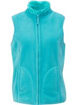 Anna Rose Reversible Fleece Gilet