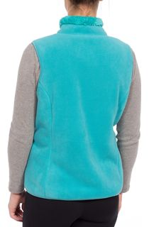Anna Rose Reversible Fleece Gilet - Ocean