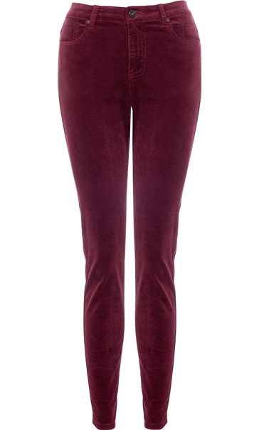 Slim Leg Stretch Cord Trousers