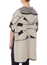 Hooded Knit Cover Up