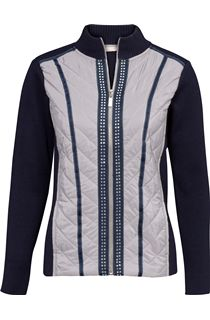 Anna Rose Embellished Knit Cardigan