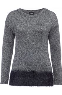 Long Sleeve Sparkle Knit Top