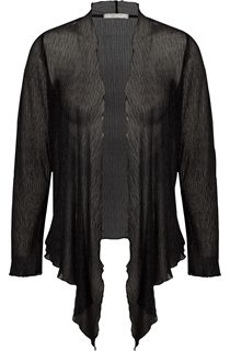 Anna Rose Long Sleeve Shimmer Sheer Cover Up