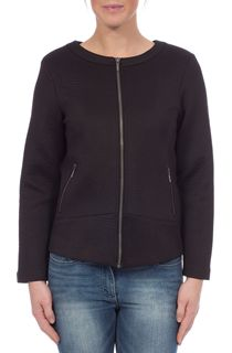 Unlined Long Sleeve Zip Jacket