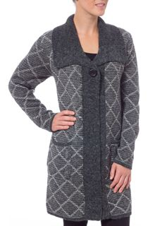 Diamond Knit Coatigan