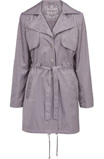 Turn Sleeve Trench Coat