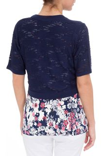 Anna Rose Knitted Open Cover Up