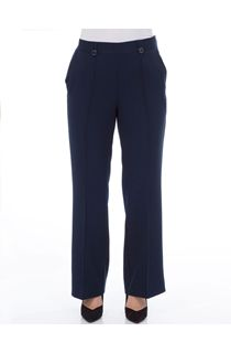 Anna Rose 27 Inch Straight Leg Trouser - Navy