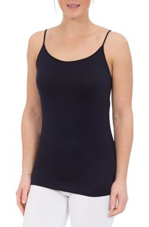 Strappy Jersey Camisole Top - Navy