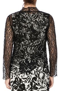 Anna Rose Sparkle Knit Tie Cover Up - Black