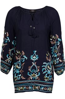 Embroidered Boho Tunic