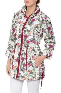 Botanical Roll Sleeve Lightweight Jacket