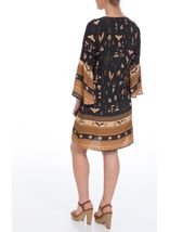 Border Printed Boho Tunic