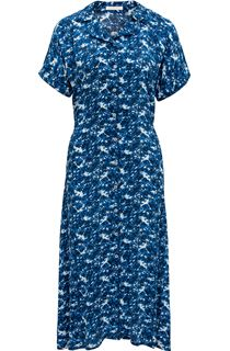 Anna Rose Printed Button Fastening Dress