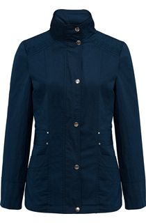 Lightweight Cotton Jacket - Navy